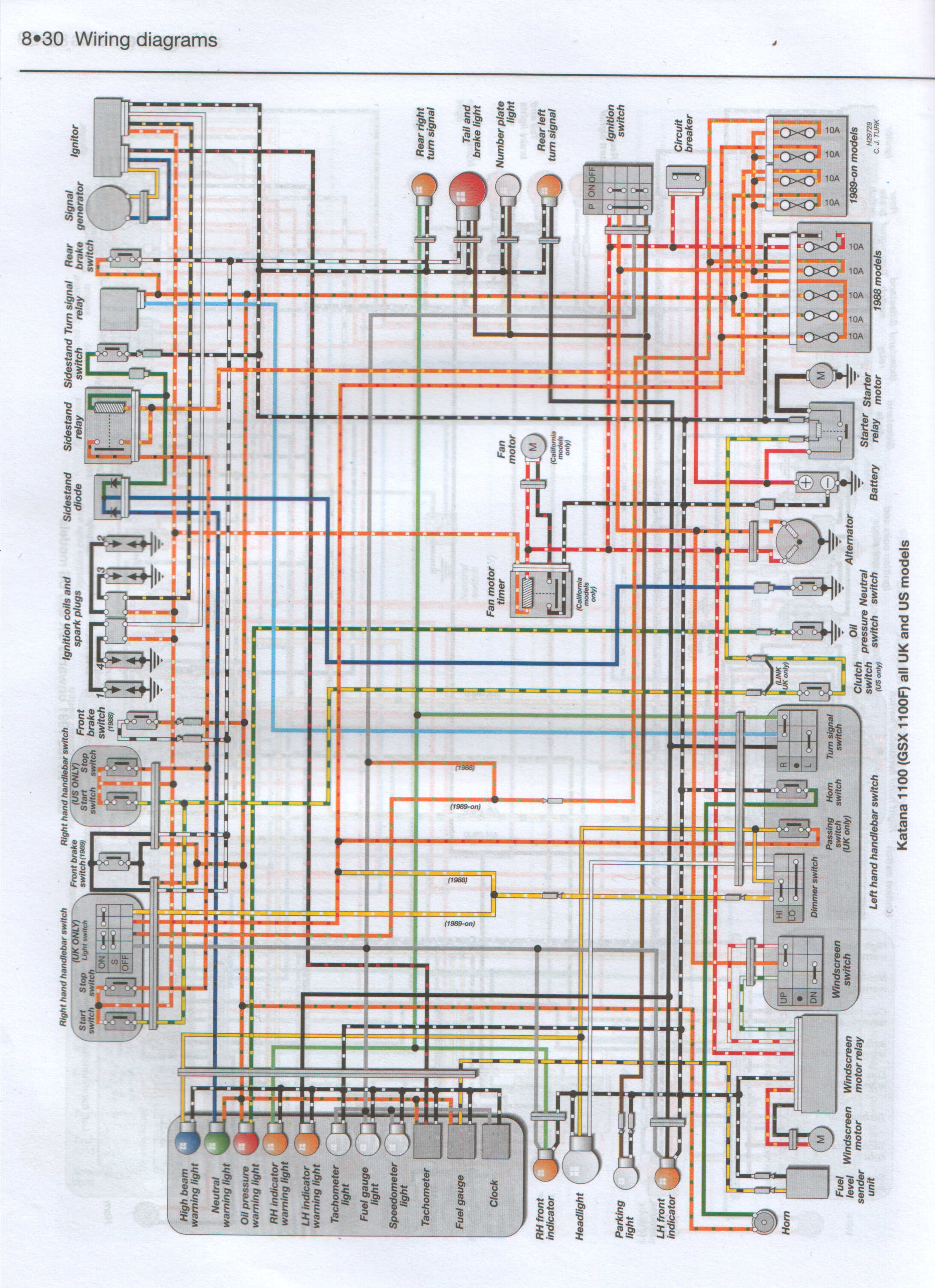 Suzuki_GSX1100F_Wiring_Diagram  Suzuki Wiring Diagram on gsx1300ra, lt230e,